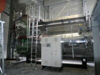 The biomass heating plant